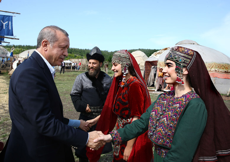 Presidency Of The Republic Of Turkey : President Erdoğan Visits Set