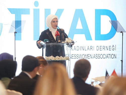 First Lady Erdoğan Attends TIKAD's Iftar