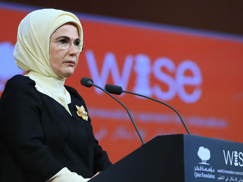 First Lady Erdoğan Attends World Innovation Summit for Education